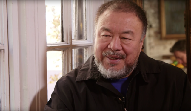 Border Talk With Ai Weiwei in New York City | Real America with Jorge Ramos