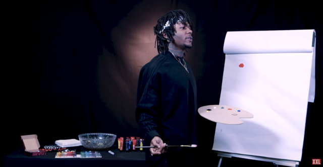 J.I.D Paints His 'DiCaprio 2' Album