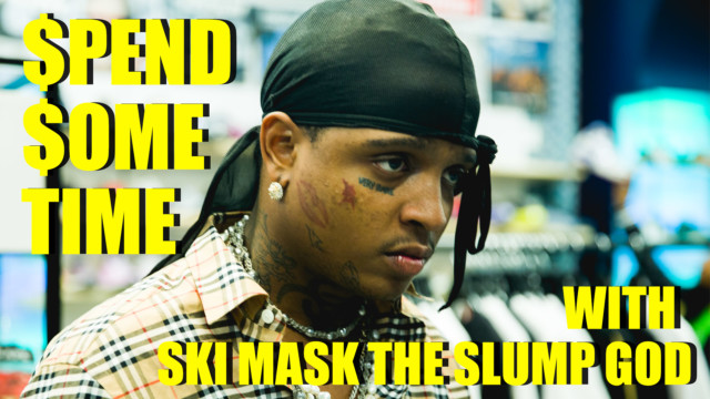 Ski Mask The Slump God Brings Gucci Socks With the Crocs to the Game – Spend Some Time
